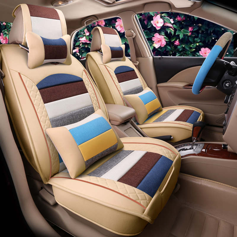 Sports Car Seat Cover Cushion High Grade Leather Car