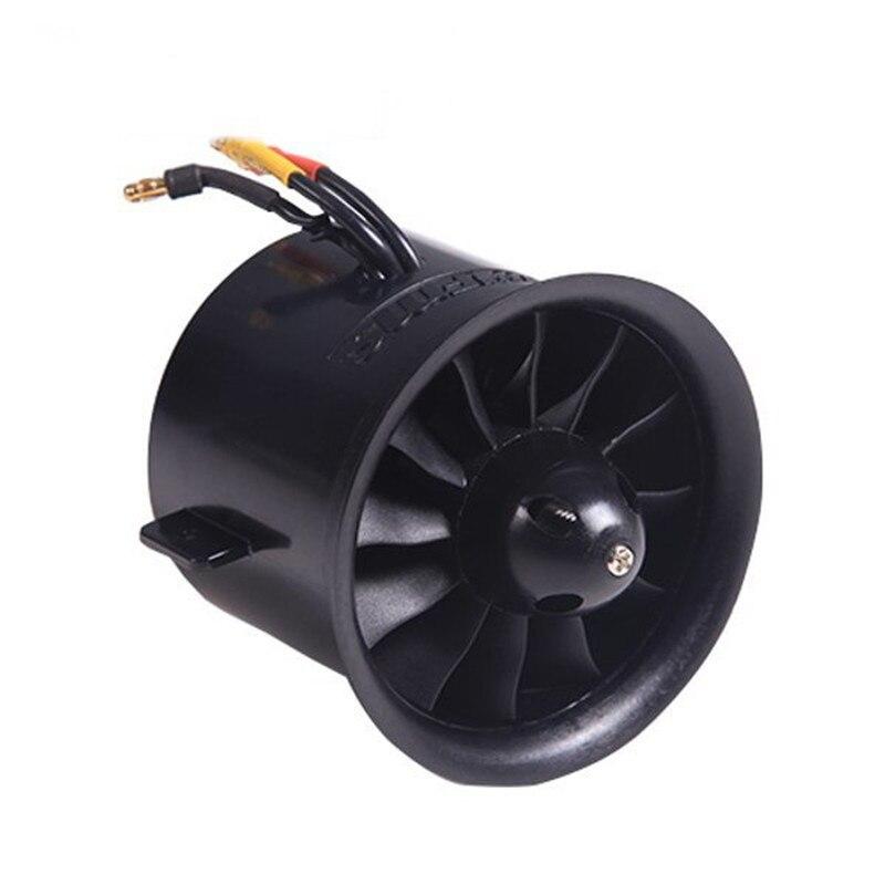 ФМС 70 мм 12 лопасти Канальные вентилятор EDF с 2845 kv2750 Двигатель для самолета