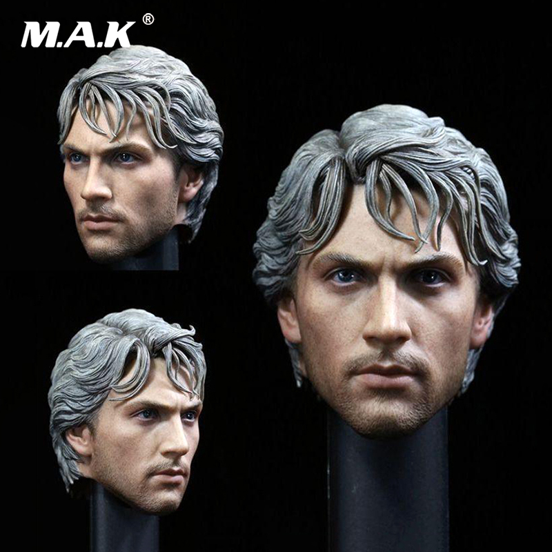 1/6 Scale Quicksilver Aaron Johnson Head Carved plastic silver hair Model Head Carving fit 12 Male body Model Toy  1/6 Scale Quicksilver Aaron Johnson Head Carved plastic silver hair Model Head Carving fit 12 Male body Model Toy