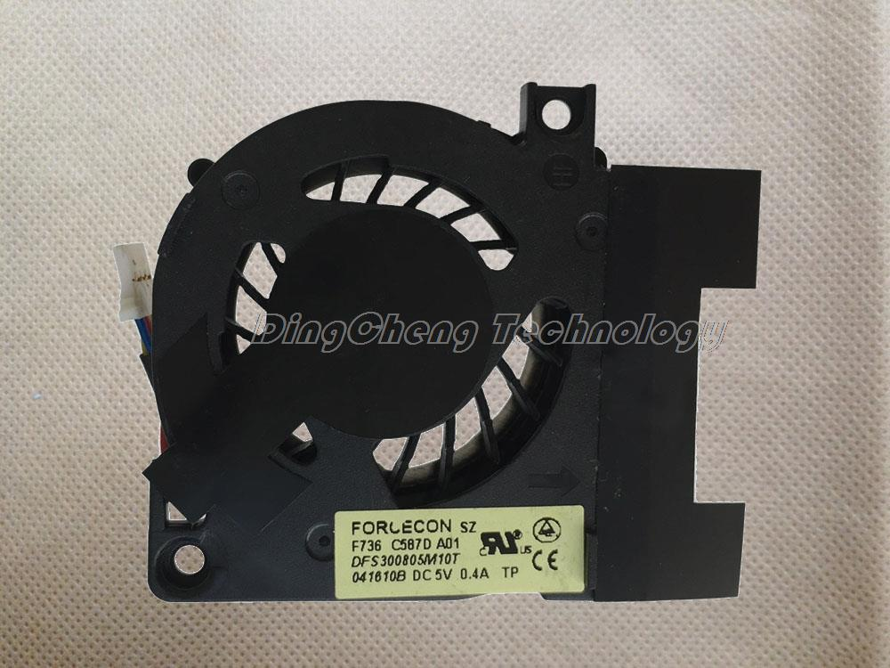 HOLYTIME FOR DELL E4200 Original and New CPU Cooling fan DFS300805M10T Laptop Radiators Cooling Fan 100% fully test