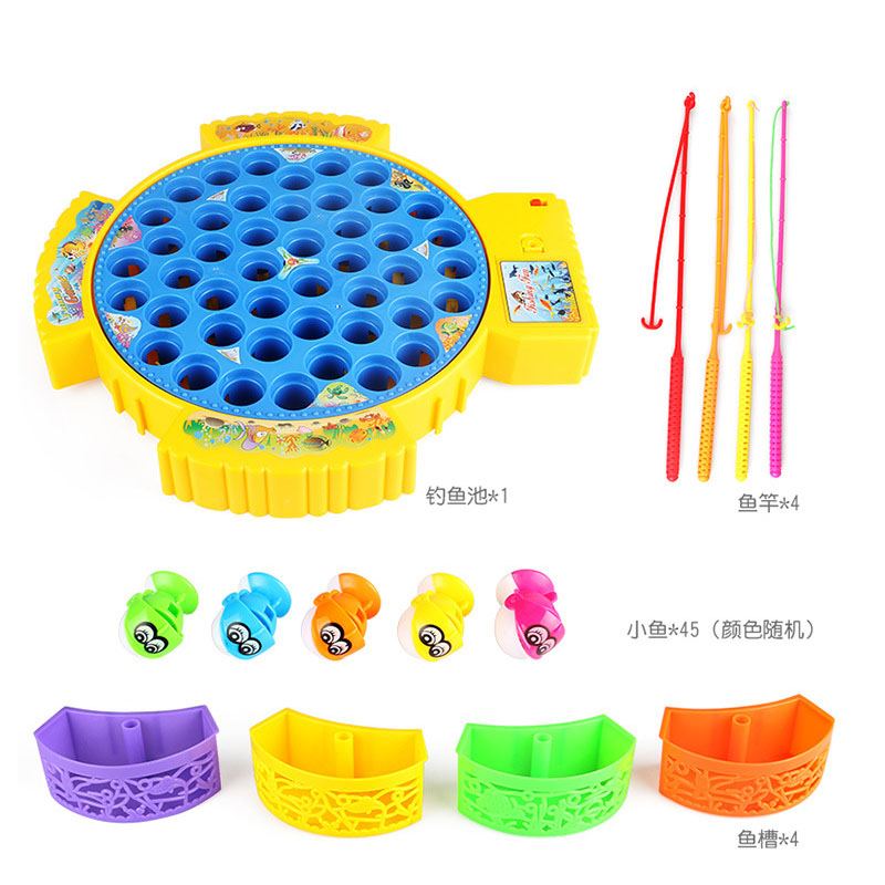 Childrens-Classical-Fishing-Toys-Set-Electric-Rotary-Music-Fishing-Set-Baby-Puzzle-Toys-Electric-Rotating-Fishing-Game-As-Gift-2