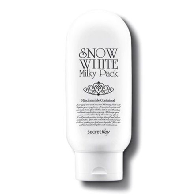 Llave Secreta Blancanieves Milky Pack 200 ml máscara Facial máscara blanqueadora ilumina la piel hidratante Anti envejecimiento cuidado de la piel