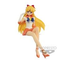Japan Anime Pretty Guardian Sailor Moon Original Banpresto Break Time Figure (BTF) Collection Figure Sailor Venus