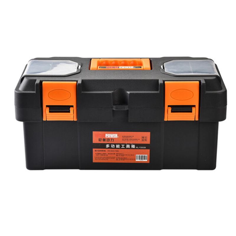 Neopower Large toolbox Household Maintenance Electrician Tool Box Screw Box Multifunctional Car repair Thicken Tool Box