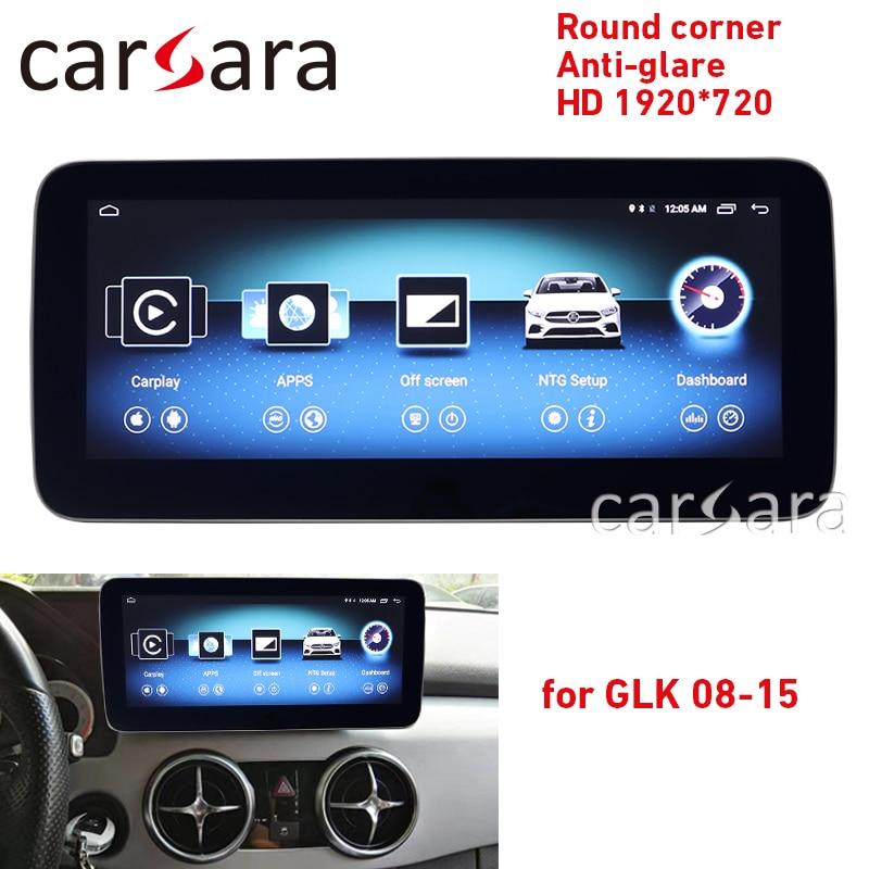 GLK X204 radio Android écran tactile coin rond HD 1920 anti-éblouissement 10.25 affichage GPS Navigation stéréo tableau de bord lecteur multimédia