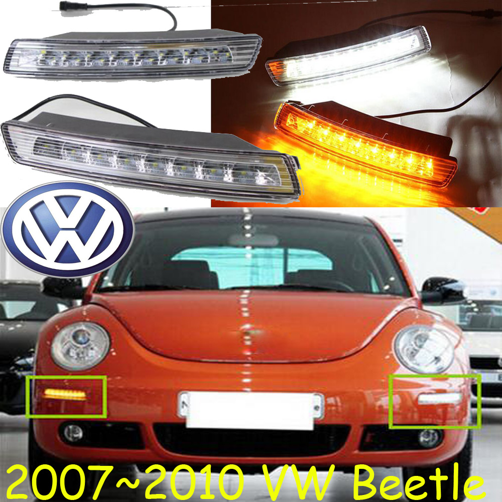 2007~2010 Beetle daytime light;Free ship!LED,Beetle fog light,2ps;Cabrio,Tiguan Touran Caddy Caddy Jetta 6,Beetle headlight stels beetle 2