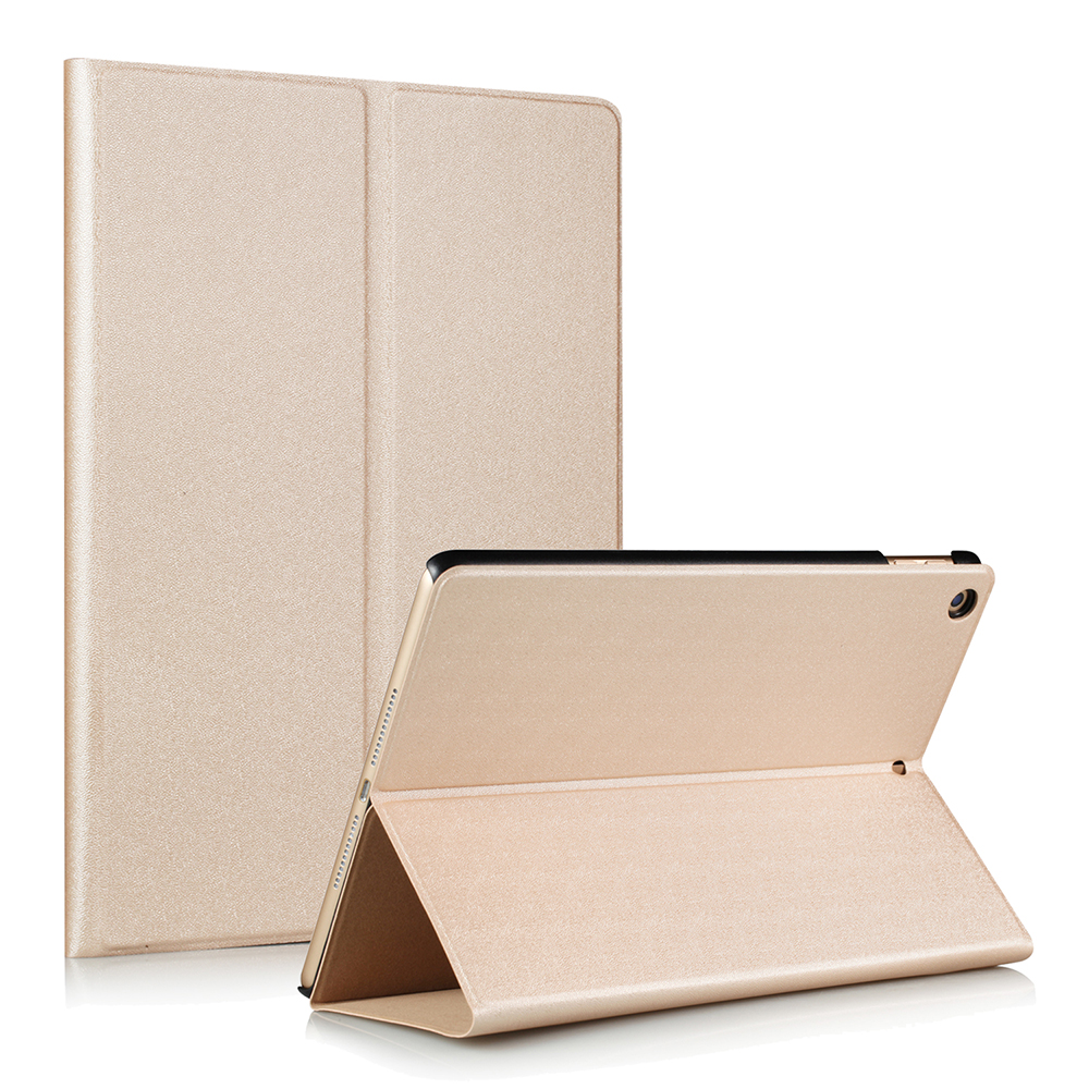 Slim Magnetic Hard Tablet Cover Case for New iPad A1822 9.7 Inch Folding Flip PU Leather Case Smart Intelligent Wake-Use Cover steelie magnetic tablet socket