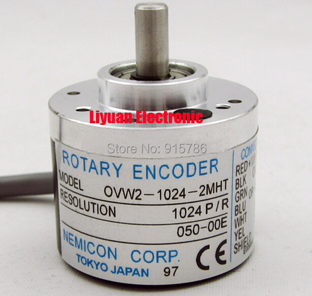 OVW2 1024 2MHT Within the control rotary encoder 1024P R encoder