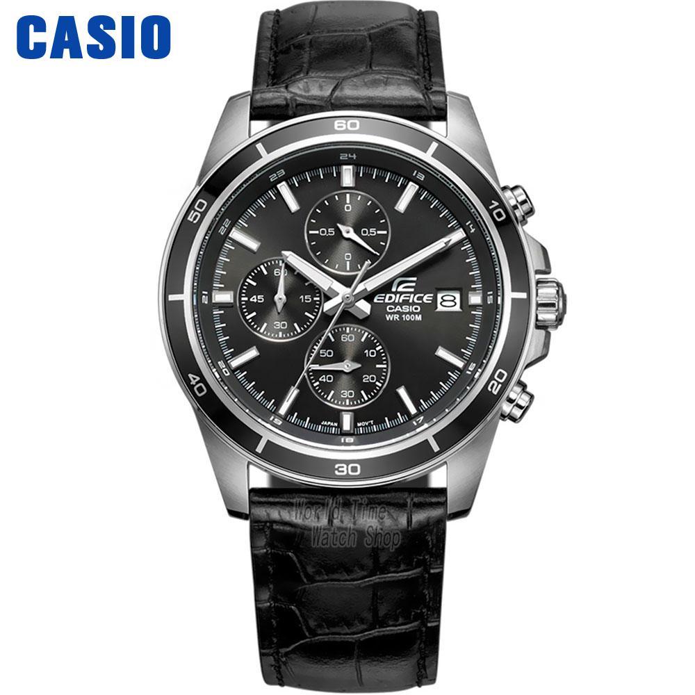 CASIO Часы Бизнес Повседневная Водонепроницаемая кварцевые часы мужской EFR-526D-1A EFR-526D-5A EFR-526D-7A EFR-526L-1A EFR-526L-2A EFR-526L-7A