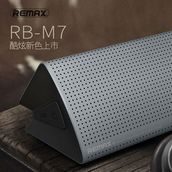 Remax M7 original Portable Wireless Bluetooth Speaker Subwoofer Hifi Stereo Music Rechargeable Bluetooth Speaker Aux Mobile