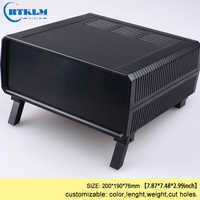 ABS plastic enclosure plastic instrument case diy junction box distribution enclosure 200*190*76mm