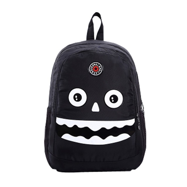 a65f28bd57 Hot sale new cute strange tooth face bag children school bags kids backpack  gift for children mochila infantil
