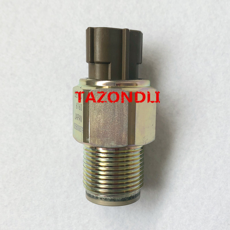 Genuine and new Common Rail Pressure Sensor 499000 6160/ 4990006160-in Oil Pressure Regulator from Automobiles & Motorcycles    1