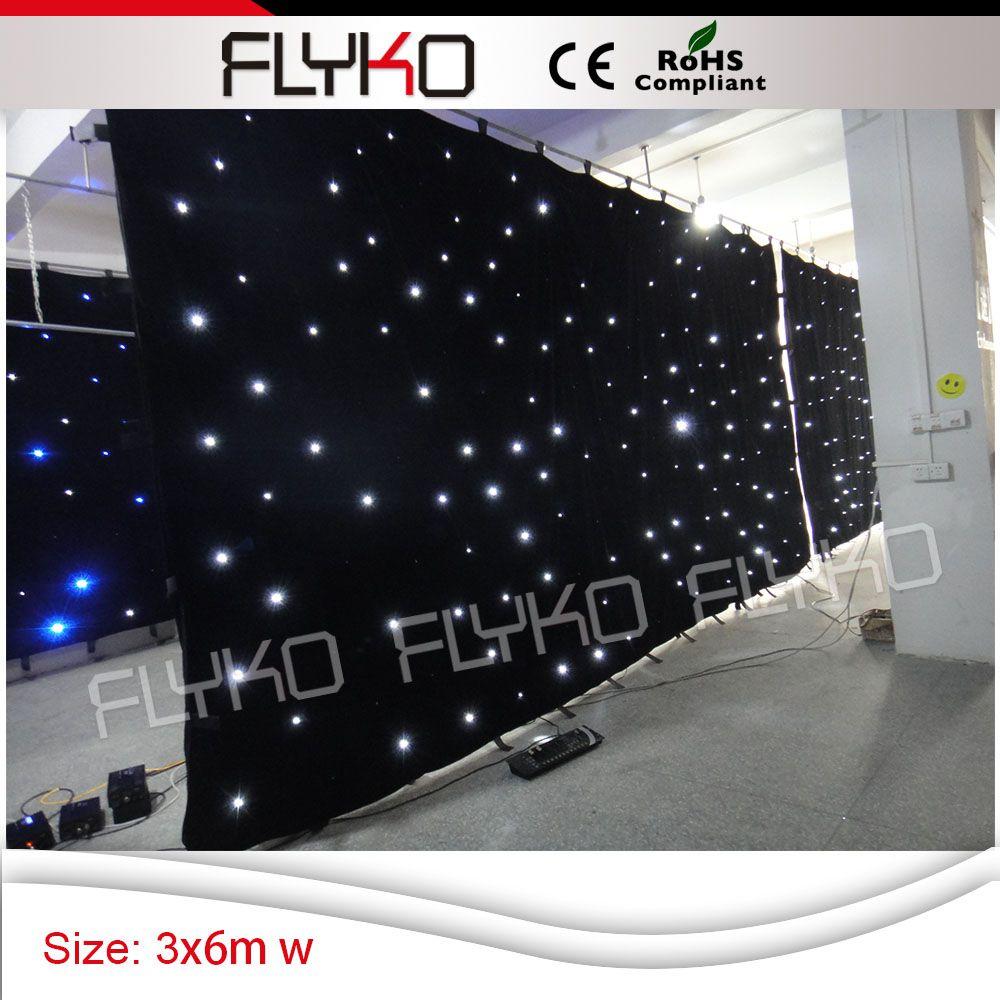 Livraison gratuite blanc couleur nouveaux produits sur le marché chinois rideau étoiles