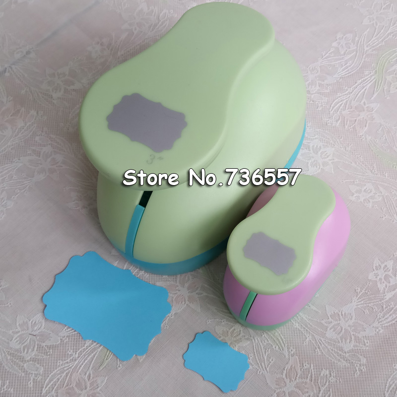 Free ship 2pcs Polygon (1pc 3 and 1pc 1.5) craft punch set Punch Craft Geometry Scrapbooking Hole Puncher Tag Shaped Punches39 craft джемпер мужской craft pace jersey
