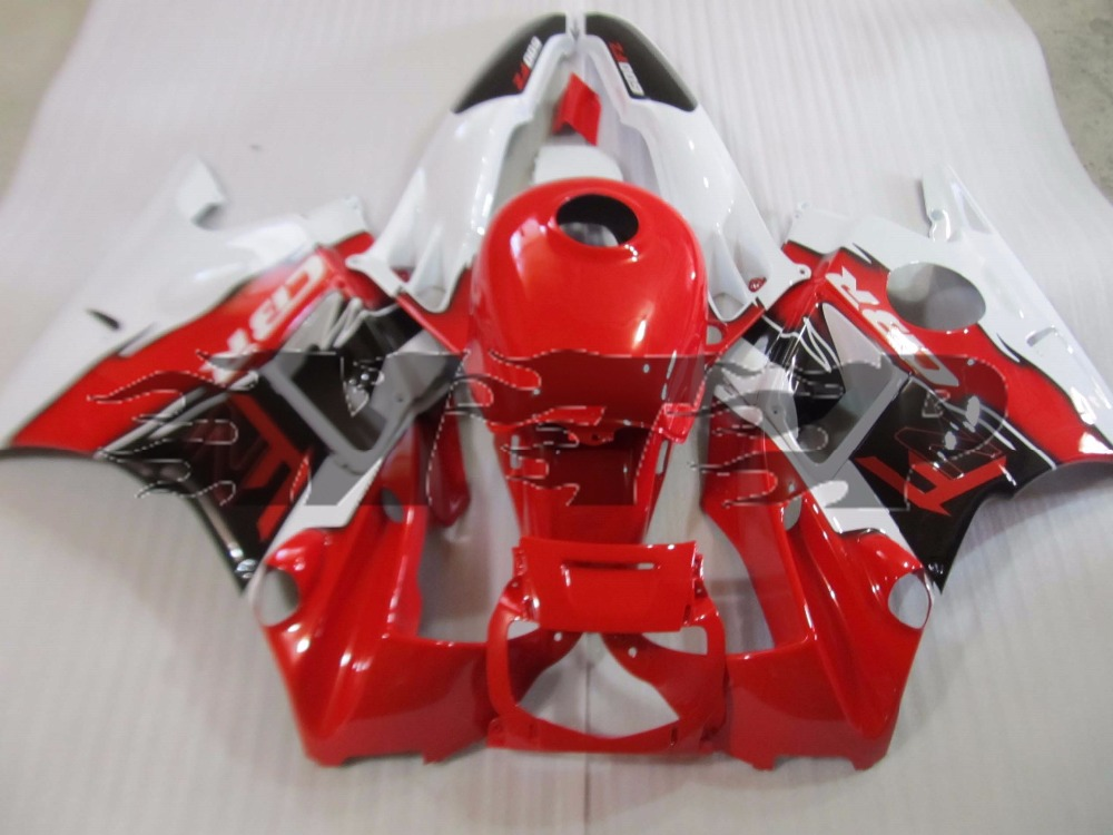 Motorcycle ABS Red Bodywork Fairing Kit For <font><b>Honda</b></font> CBR600F2 CBR 600 <font><b>F2</b></font> 1991 1992 1993 1994 <font><b>CBR600</b></font> <font><b>F2</b></font> 91-94 Full Fairings Cowl image