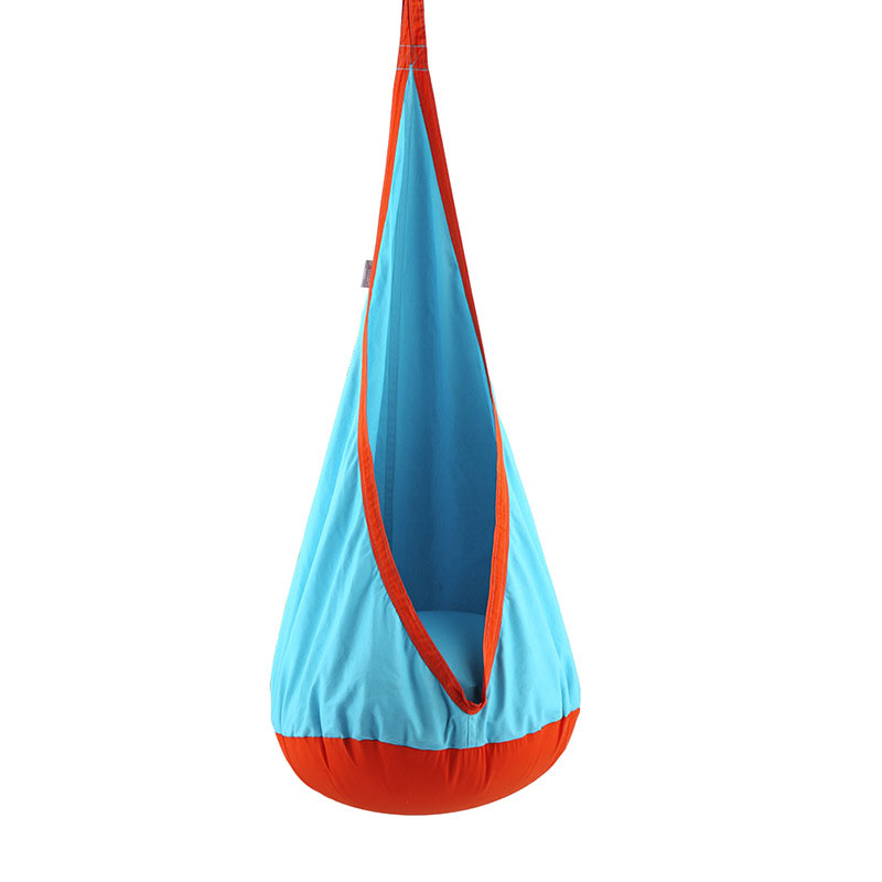 New Design Children Hammock  Cushion Garden Swing Chair Indoor Outdoor Hanging Seat Child Swing Seat Patio Hammock Furniture