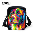 Cute Women Bimba Handbag Children Mini Shoulder Bags Student Kids Messenger Bag Painting Dog Crossbody Animal Bag for Girls