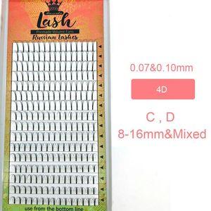 Image 4 - Бесплатная доставка, 5 коробок в партии, готовые вееры для наращивания ресниц 3d/4d/5d/6d, готовые вееры для увеличения объема, корейский Шелковый поднос для наращивания ресниц Pbt