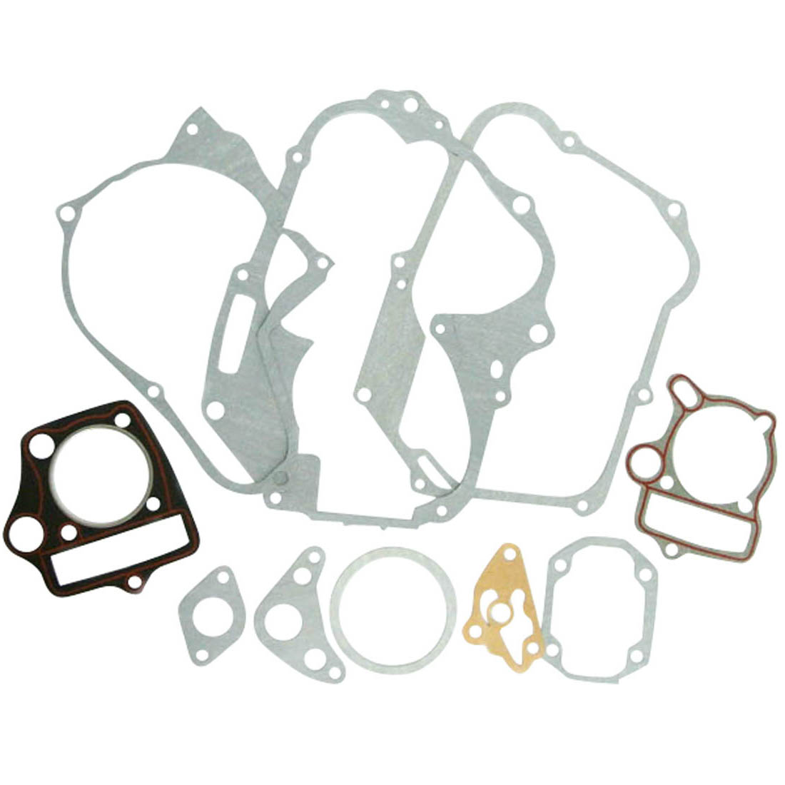 110cc 4-stroke Whole Engine Gasket Set For ATVS Starter On The TOP Engines