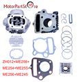 For HONDA CRF50 XR50 Z50 CL70 S65 PISTON CYLINDER HEAD KIT 50cc REBUILD PISTON KIT