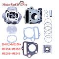 Para honda crf50 xr50 z50 cl70 s65 de cilindro y pistón kit 50cc rebuild kit de pistón