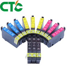 12 Pack 18xl T1811  Ink Cartridge Compatible for INK Expression Home XP-30 XP-102 XP-202 XP-205 XP-302  XP-305 XP-402 XP-405 original new pickup roller kit feed roller for epson xp 33 xp 102 xp 103 xp 202 xp 203 xp 205 xp 207 xp 212 xp 215 xp 420 xp 302