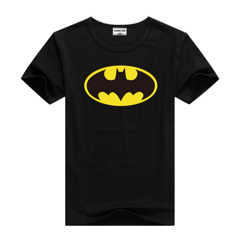 Tshirt Boys Short-Sleeve Girls Tops Batman Toddler Baby Kids Children Dmdm Pig for 2-3-4-5-6-7-Years