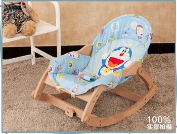 Wielofunkcyjny Fotel bujany fotel wypoczynkowy tanie i dobre opinie Meble do salonu Szezlong Meble do domu Nowoczesne Drewna Z litego drewna