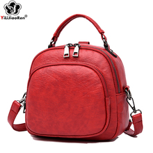 Casual Small Women Backpacks Brand Leather Mini Backpack Female Lovely Bagback Cute Shoulder Bags for Women Bags 2019 Mochila