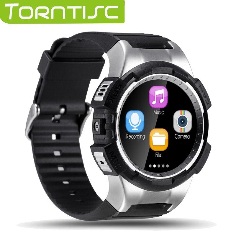 imágenes para Torntisc GPS Bluetooth Smartwatch V11S Soporta tarjeta de 32 GB TF SMS Recordatorio siri Multi-modo de la Supervisión de Los Deportes Reloj de Pulsera