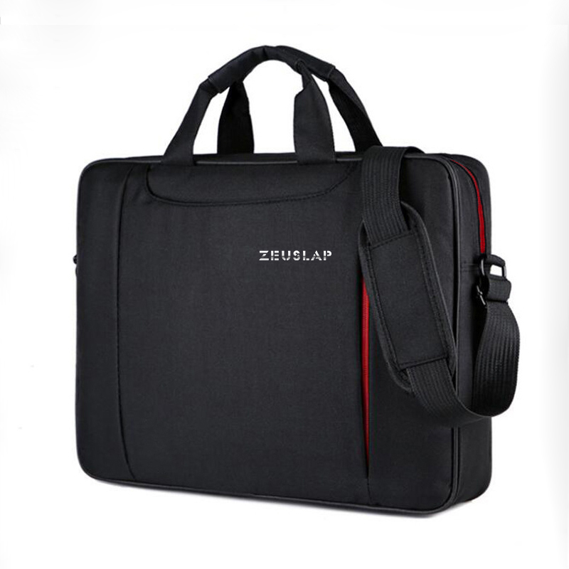 New ZEUSLAP 11 12 13.3 14.1 15.4 15.6 Waterproof Nylon Notebook Messenger Hand Bag for Dell 14 15.6 Laptop Shoulder Bag