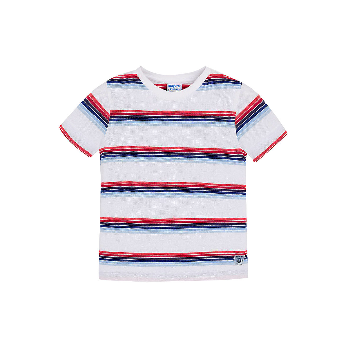 T-Shirts MAYORAL 10681831 Children sClothing T-shirt with short sleeves polo shirt for boys and girls
