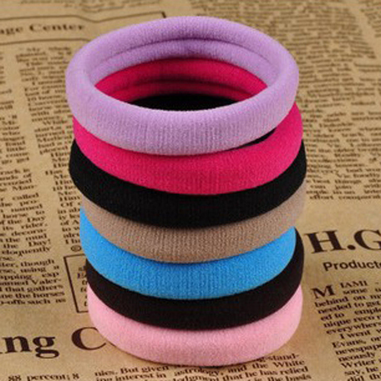10pcslot Rubber Bands Hair Elastics Accessories Girl Women