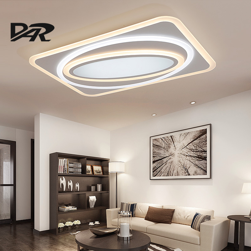 New Design Ultra Thin Acrylic Modern Led Ceiling Lights For Living Room  Bedroom Fashion LED Ceiling - Compare Prices On Designer Ceiling Lamp- Online Shopping/Buy Low