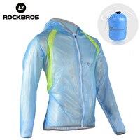 ROCKBROS Windproof Running Jackets Waterproof TPU Raincoat Cycling Female Jacket Bike Bicycle Hiking Men Lady S