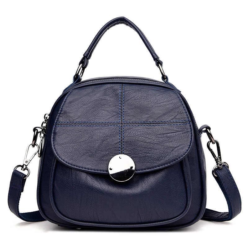 Женский рюкзак высококачественный Молодежный кожаный рюкзак для девочек-подростков женская школьная сумка многофункциональные женские сумки на плечо
