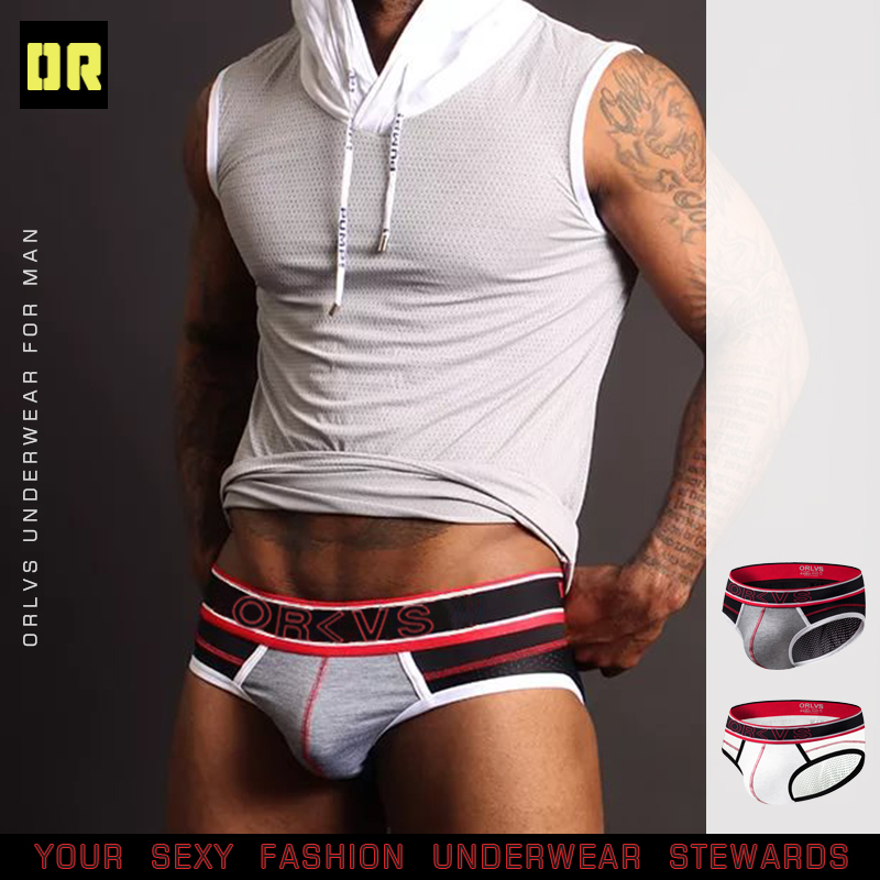 CMENIN Brand Men Underwear Briefs Sexy Gay Mens Brief Men Cotton Pouch Underwear Cueca Male Panties Bikini Sissy OR91