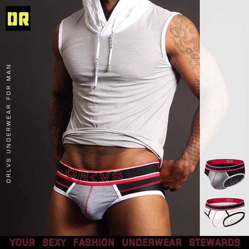 CMENIN Brand Men Underwear Briefs Sexy Gay Mens Brief Men Cotton Pouch Underwear Cueca Male Panties Bikini Sissy OR91