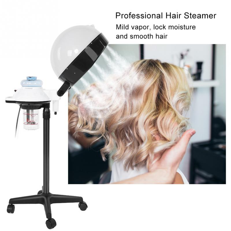 Professional Hair Steamer Rolling Stand Beauty Salon Color: Salon Spa Hair Steamer Rolling Stand Hooded Hair Coloring