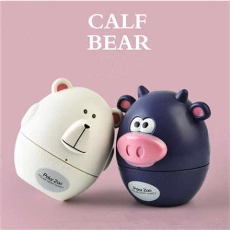 Cute Cartoon Cows Bear Kitchen Timer Mechanical Alarm Clock Without Battery Reminders Timer 60 Minutes Cooking Timer