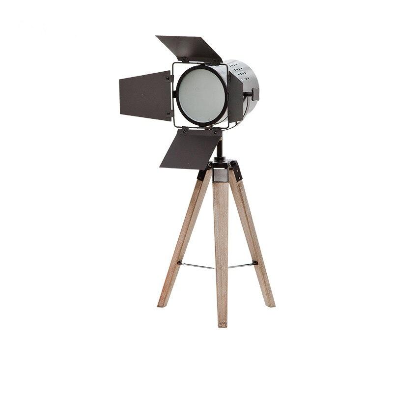 Современный светодиодный прожектор настольная Лампа основание треноги золото стоячие лампы хром абажур стоячие огни металлические настол