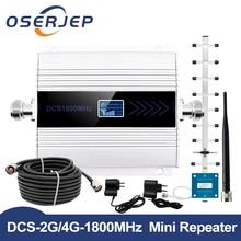 Fullset DCS 1800MHZ GSM 1800 2g 4g LTE Handy Signal Repeater Booster Handy Signal Verstärker + Indoor Outdoor Antenne