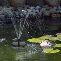 Outdoor Solar Fountain Garden Birdbath Pool Water Fountain Floating Fountain Garden Decoration