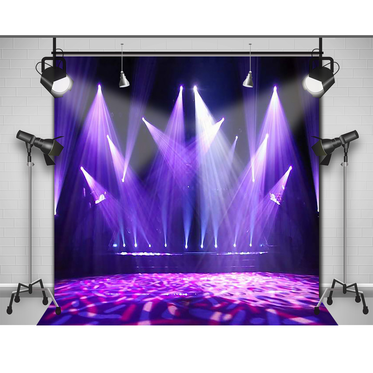 Bl blue stage curtains background - Aliexpress Com Buy Allenjoy Photographic Background Light Blue Fashion Stage Photography Fantasy High Quality Fondos Fotografia Private Party From