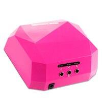 Upgraded Diamond Shape 36W UV LED Lamp Nail Dryer 10s 20s 30s Timer Manicure Lamp Gel
