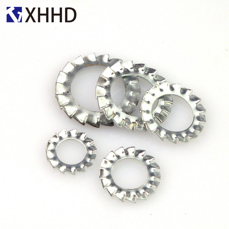 External Toothed Gasket Washer Serrated Lock Washer 304 Stainless Steel M2 5 M3 M4 M5 M6 M8 M10 M12 M14 M16 M18 M20 M24 M30 in Washers from Home Improvement