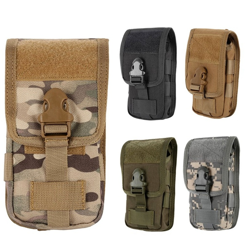 CQC 5.5 Inch Tactical Molle Pouch Cover Case Military Outdoor Hunting Camo Mobile Phone Pouch Belt Holder Waist Bag CQC 5.5 Inch Tactical Molle Pouch Cover Case Military Outdoor Hunting Camo Mobile Phone Pouch Belt Holder Waist Bag