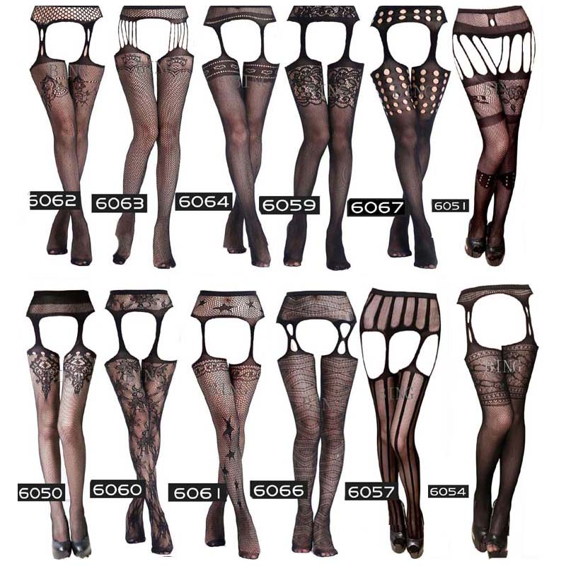 Summer Lady Fashion Sexy Women Stylist Fashion Ladies Lace Top Tights Stay Up Thigh High Stockings Nightclubs Pantyhose S04