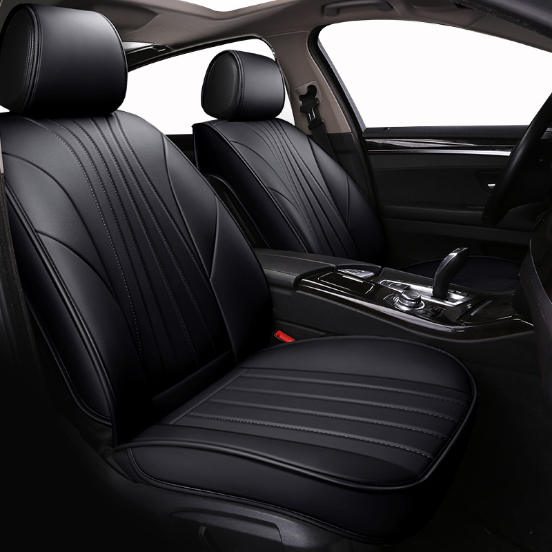 Front Rear Special Leather car seat covers For Peugeot 307 206 308 407 207 406